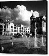 Downtown Tomsk Canvas Print