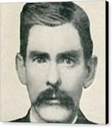 Dr. John H. Holliday 1851-1887 Was An Canvas Print