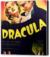 Dracula, Top From Left Helen Chandler Canvas Print by Everett