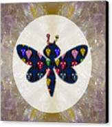 Dragon Fly Cute Painted Face Cartons All Over Donwload Option Link Below Personl N Commercial Uses Canvas Print by Navin Joshi