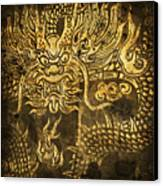 Dragon Pattern Canvas Print by Setsiri Silapasuwanchai