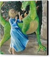 Dragon Princess 2 Canvas Print