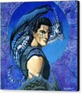 Dragoneer Canvas Print