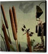 Dragonfly Canvas Print by Mark Wagoner