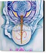 Dragonfly Spirit Canvas Print by Diana Shively