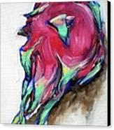 Dragonfruit Canvas Print by Sheila Tajima