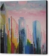 Dream City No.1 Canvas Print