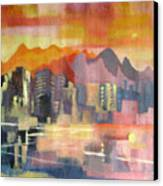 Dream City No.3 Canvas Print