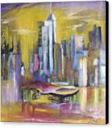 Dream City No.5 Canvas Print