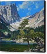Dream Lake Canvas Print