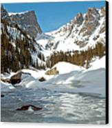 Dream Lake Rocky Mountain Park Colorado Canvas Print by James Steele