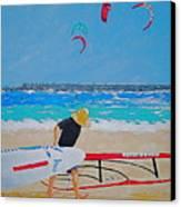Dreamer Disease V Ponce Inlet  Canvas Print