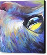 Dreamer Tubby Cat Painting Canvas Print by Svetlana Novikova