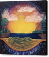 Dreaming Goddess Canvas Print