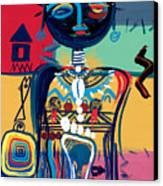 Dreaming Of Africa Canvas Print by Oglafa Ebitari Perrin