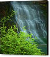 Dreamy Waterfalls Canvas Print by Iris Greenwell