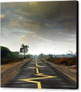 Drive Safely Canvas Print