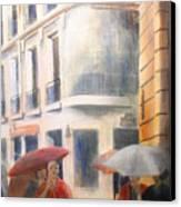 Drizzle Canvas Print