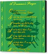 Drummers Prayer_2 Canvas Print by Joe Greenidge
