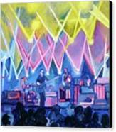 Dru's Night With Um Canvas Print