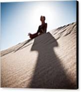 Dry Meditation Canvas Print