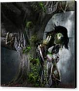 Dryad's Dance Canvas Print by Mary Hood