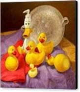 Duck Soap Canvas Print