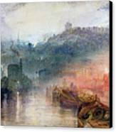 Dudley Canvas Print by Joseph Mallord William Turner