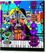 Duets Canvas Print