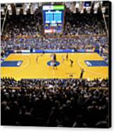 Duke Blue Devils Cameron Indoor Stadium Canvas Print by Replay Photos