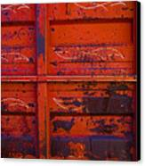 Dump Truck Canvas Print