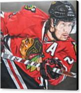 Duncan Keith Canvas Print by Brian Schuster