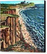 Dunes At Montauk Canvas Print