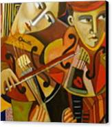 Duo Romantico Canvas Print