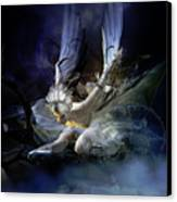 Dying Swan Canvas Print
