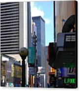 E Food  Taxi  New York City Canvas Print