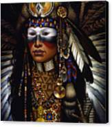 Eagle Claw Canvas Print by Jane Whiting Chrzanoska