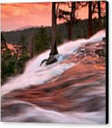 Eagle Falls Evening Canvas Print by Buck Forester