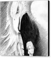 Eagle Guardian Canvas Print