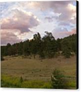 Eagle Rock Estes Park Colorado Canvas Print