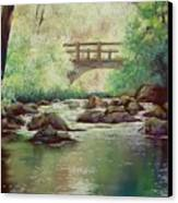 Early Morning At Gulpha Gorge Canvas Print