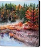 Early Morning Fog  Canvas Print by Nita Leger Casey