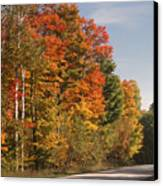 Early Morning In Door County Canvas Print by Sandra Bronstein