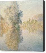 Early Morning On The Seine At Giverny Canvas Print