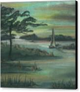 Early Morning Sunrise Canvas Print by Shelby Kube