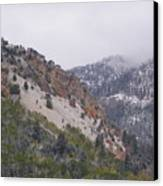 Early Snows Canvas Print