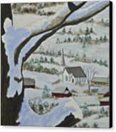 East Orange Vermont Canvas Print by Charlotte Blanchard