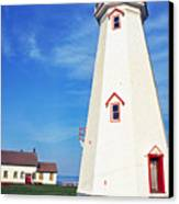 East Point Lightstation Canvas Print by Thomas R Fletcher