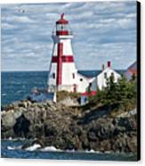 East Quoddy Lighthouse Canvas Print by John Greim