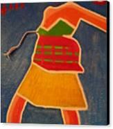 East Vs. West Canvas Print